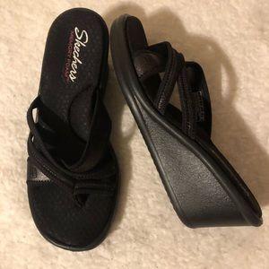 Skechers Wedge Sandals Sz 7